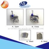 Uno mismo dental que liga los corchetes ortodónticos del metal de las paréntesis con alta calidad