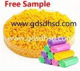 Gele Draad Masterbatch en Kabel Plastic Gele Masterbatch