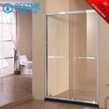 Qualité glissant l'écran de douche avec le traitement carré (BL-F3017)