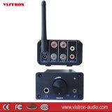 De Audio Aangedreven Versterker van het huis 100W & Versterker van de Hoofdtelefoon van de Muziek van de Ontvanger Bluetooth de Stereo Hifi met de Antenne van de FM, Afstandsbediening