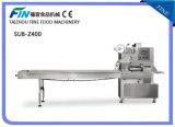 De halfautomatische Machine van de Verpakking van het Hoofdkussen voor Koekjes, Koekje, Brood, Chocolade
