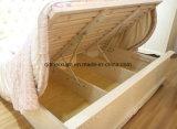 Camas matrimoniales modernas de la base de madera sólida (M-X2287)