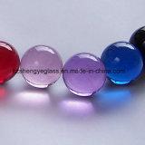 Hot Sale boule de cristal décoratifs de verre rondes