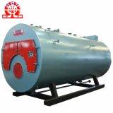 Chaudière à vapeur horizontale de gaz de pétrole de série de combustion de chambre de tambour simple