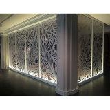 Enduit extérieur en métal de couleur aluminium pour mur rideau Revêtement mural