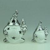 Nuevos productos de cerámica Bravo decoraciones de Navidad hechas en China