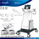 Het gewicht verliest Hifu anti-Verouderend Ce goedkeurde 2 in 1