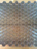 Alliage aluminium3003/5052 Honeycomb taille élargi de base