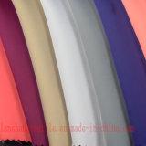 Ligereza Spandex tejido de satén de poliéster para vestir a untar la cortina