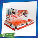 Изготовленный на заказ коробка индикации встречной верхней части бумаги картона призрения