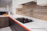 台所Splashbackのためのブラウンの装飾的なガラス