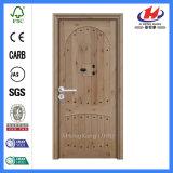 Porte en bois conçue par placage normal à la maison intérieur de chêne (JHK-S04)