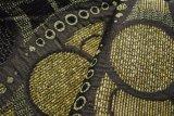 Tissu décoratif de Chenille de type de cercle par 200GSM (FTH31411)