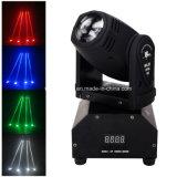 Mini-RGBW 10W Stab-Ereignis-Disco-Partei-Licht des Träger-LED
