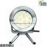 Blanco cálido, RGB, 36W, 24V LED Lámpara de bajo el agua fuente
