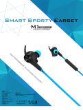 Ecouteur casque Bluetooth sans fil le sport de haute qualité de l'écouteur du casque à écouteurs (bleu(M1)