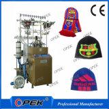 Machine à tricoter de trame à grande vitesse d'Opek pour faire des chapeaux de Beanie