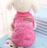 Оптовый любимчик способа одевает свитер собаки пальто в большом части