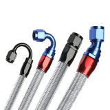 熱い販売のステンレス鋼はホースの鋼線の補強されたホースを波形を付けた