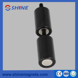 Coating Epoxy Strong Bushing Magnet with Thread Rod