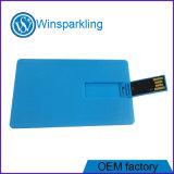 USB da memória Flash do USB do cartão de crédito da cópia de Digitas