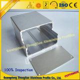 Profil en aluminium de commande numérique par ordinateur pour la caisse de poudre