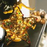 Строка медный провод индикаторы флакона с Корк 3m 10 светодиодов для DIY, декор, Рождество, Хэллоуин, свадьбы или настроение освещение
