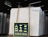 호텔 마루 도와 벽을%s 중국 공장 3mm 두껍게 닦은 베이지색 Burdur Aran 백색 베이지색 대리석 석판 또는 Marfil 새로운 크림 대리석 석판