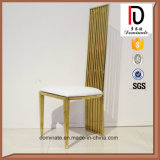 의자를 식사하는 현대 새로운 디자인 금 스테인리스 호텔