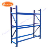 Alta capacidade de armazenamento de depósito de ferro Piso da estrutura de metal-metal suporte de monitor de rack de pneus para pneus