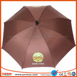 Ombrello durevole alla moda di golf del tessuto di seta naturale di alta qualità 190t