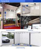 Alluminio che piega il portello sezionale automatico del garage con la gomma piuma di poliuretano