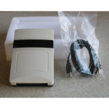 Hete Verkoop 35m Lezer RFID van de Desktop van de Lezer van de Kaart van de Haven USB de Slimme Passieve UHF