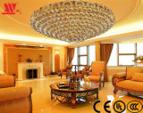 Traditional Crystal Ceiling Lamp with Glass Decoration