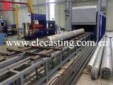 純粋なアルミニウムインゴット99.7鋳造機械
