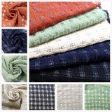 Nylon 20%40%40%algodón tejido de lino para vestir ropa de abrigo
