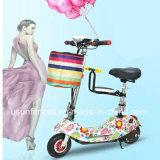 """OEM que dobra barato """"trotinette"""" Handicapped da mobilidade elétrica do assento dobro da roda para adultos"""