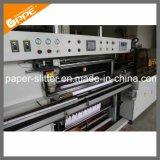 Rollo de papel personalizados rebobinadora cortadora longitudinal