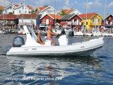 Bateau gonflable de côte de la CE de constructeurs de bateau de coque rigide de Liya 11-27feet