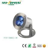 Iluminación subacuática al aire libre de IP68 LED de 1W~36W