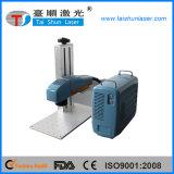 Горячая машина маркировки лазера волокна отметки 20W лазера сбывания ключевая