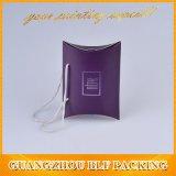 Boîte d'oreillers de papier avec poignée à l'emballage (FLO-go333)