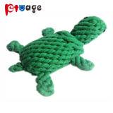 Cangrejo de la cuerda de algodón de alta calidad de los Molares mascota juguetes para perro