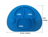 BPA освобождают сжатие сформированное Mushroon хорошее с силиконом Placemat малышей всасывания