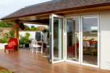 Pnoc080342ls estilo indio puerta plegable con un diseño moderno