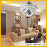 Lumière rotative/incluse de 360 degrés du plafond 24W du CREE DEL de torche