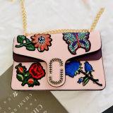 Новый мешок слинга мешка повелительницы плеча сумки цветка вышивки типа горячий продавая для женщин Sy8495