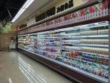 2018 Novo Produto Geladeira Comercial Supermercado Refrigerador Multideck de exibição