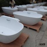 Diseño moderno que baña la bañera libre de piedra de la tina