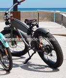 Rétro vélos de croiseur de plage d'UE 250/500W/bicyclettes électriques croiseur classique/gros vélo électrique traditionnel/nostalgie gros Pedelec/cru ce de pneu de Pedelec 26in x 4
